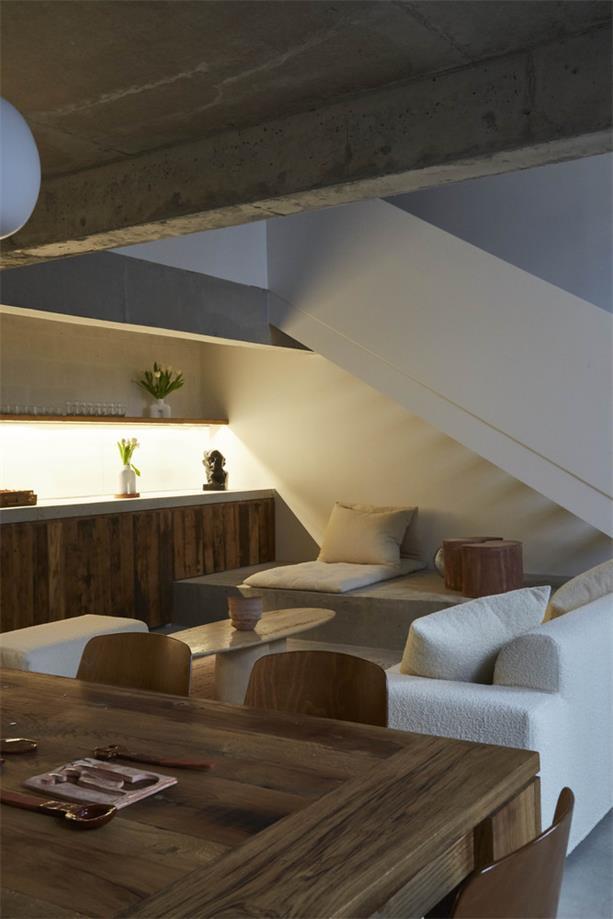 摄影工作室休闲沙发区设计