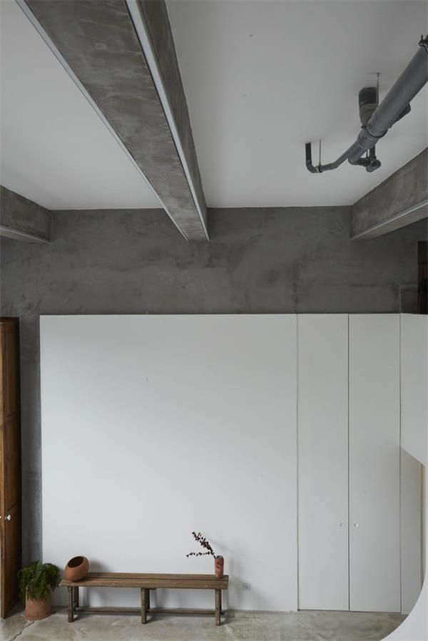 摄影工作室摄影区墙面设计