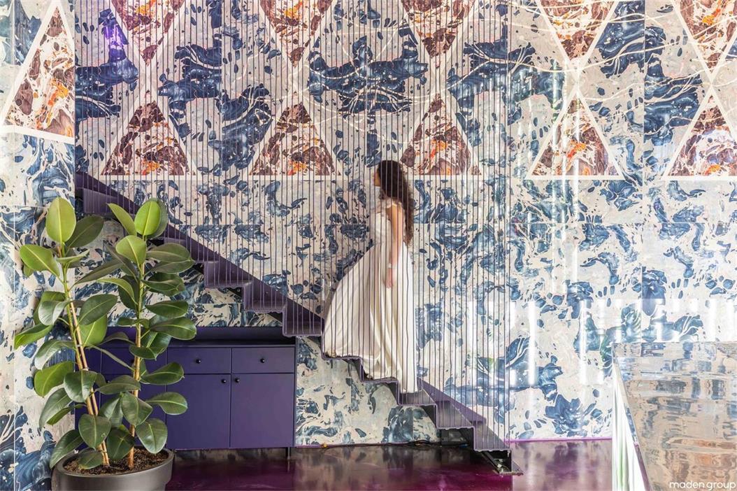 酒吧手工瓷砖墙面设计
