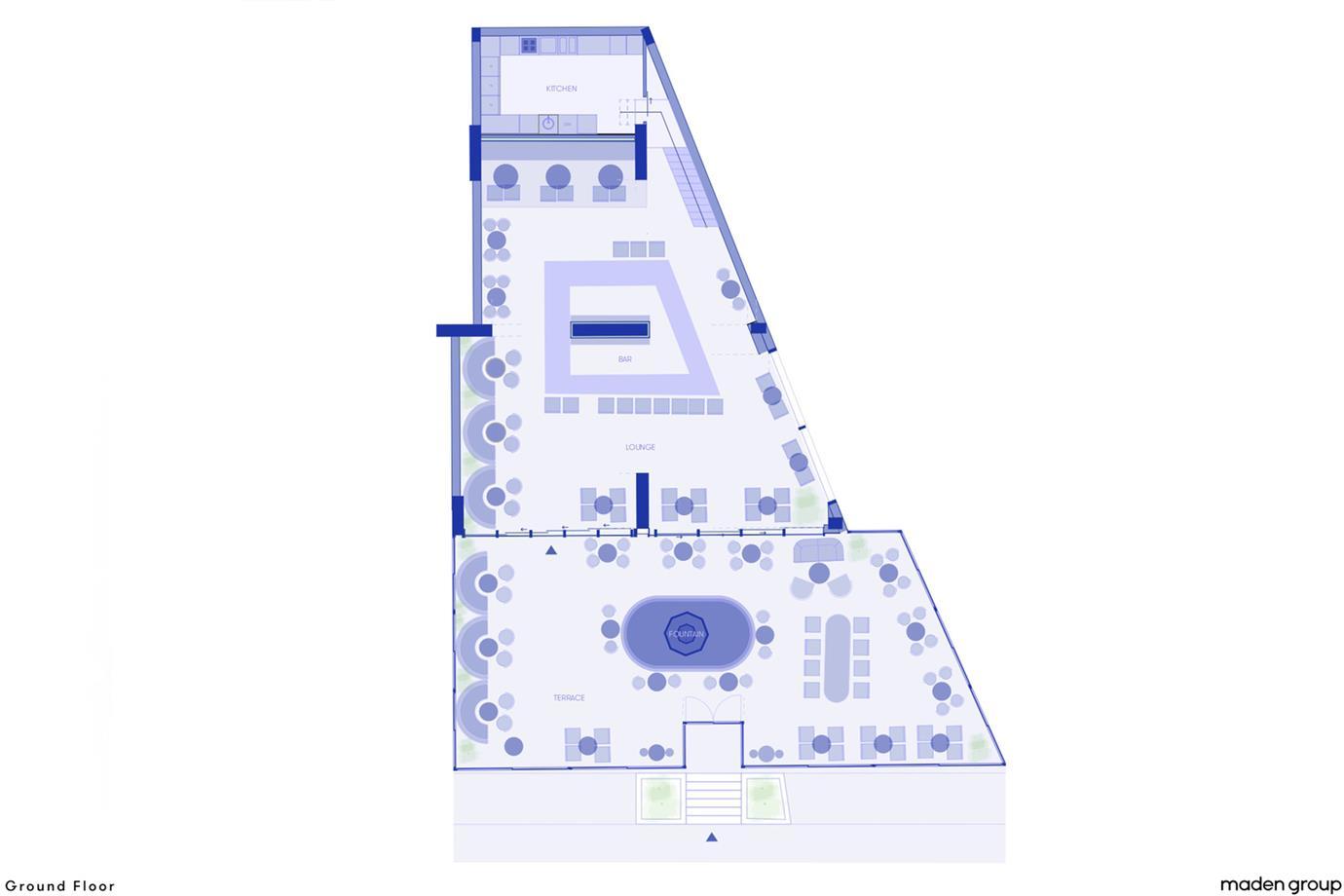 酒吧平面方案设计