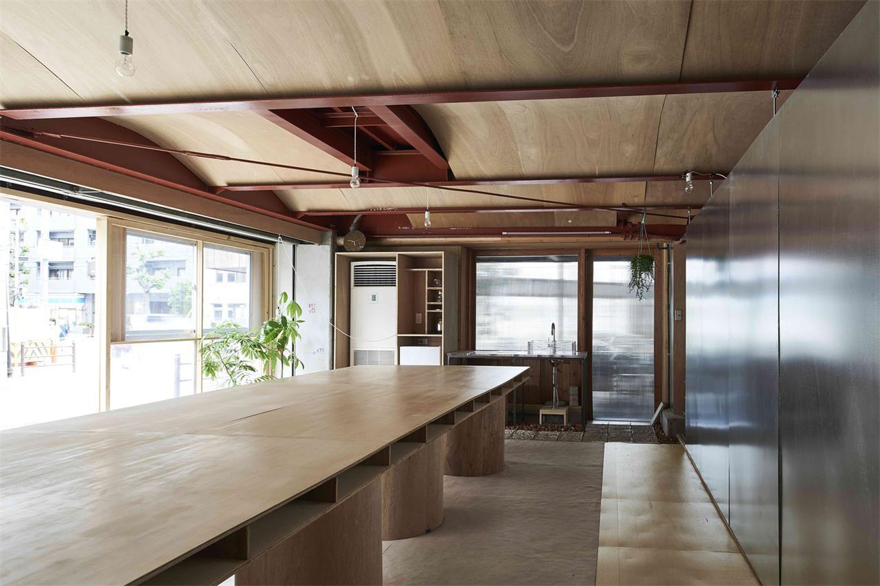 小型办公室内部通道设计