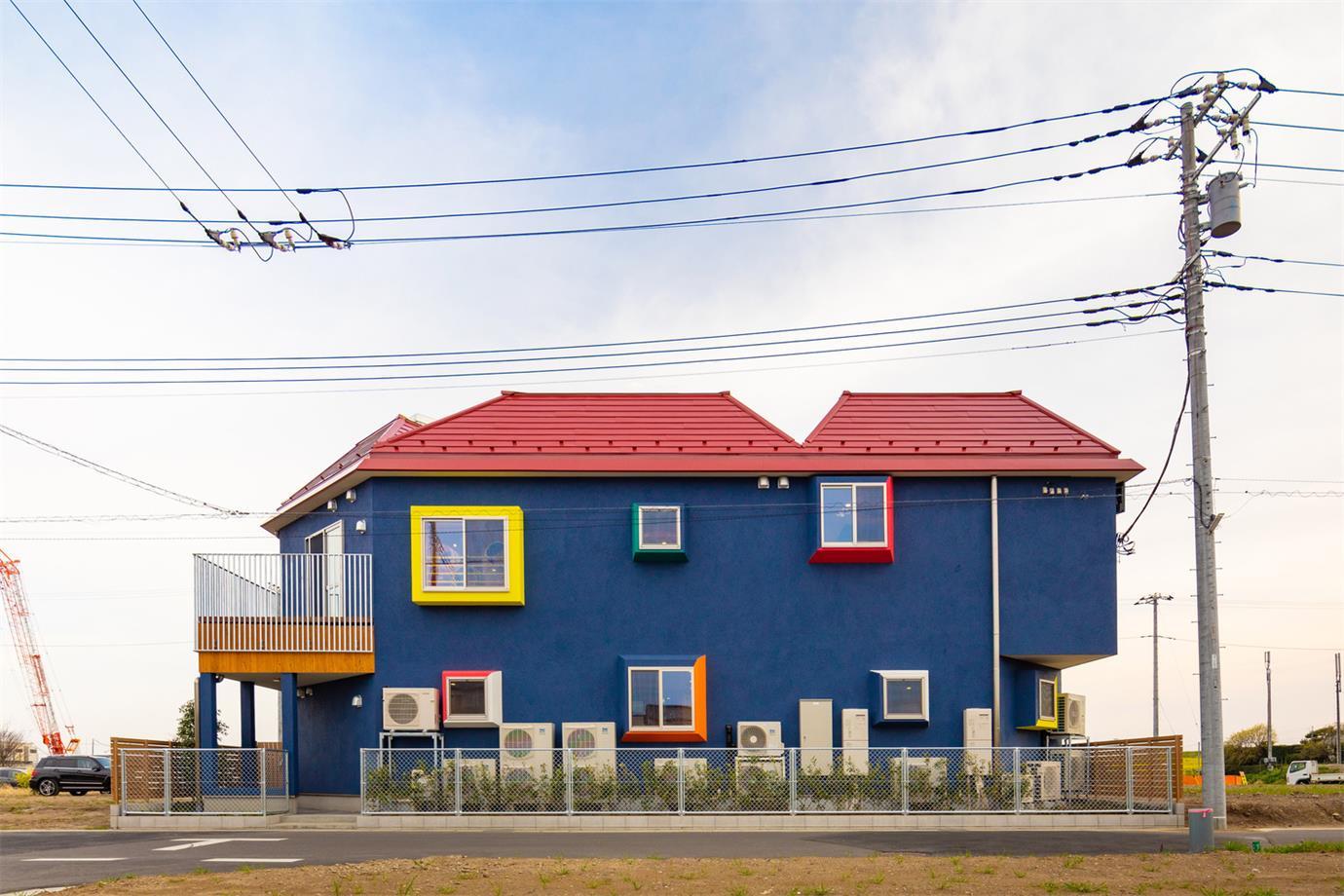幼儿园彩色建筑外立面设计