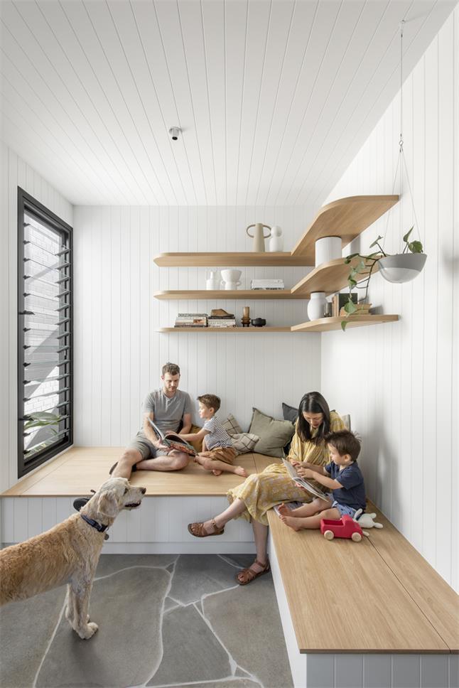 一层别墅榻榻米休闲室设计