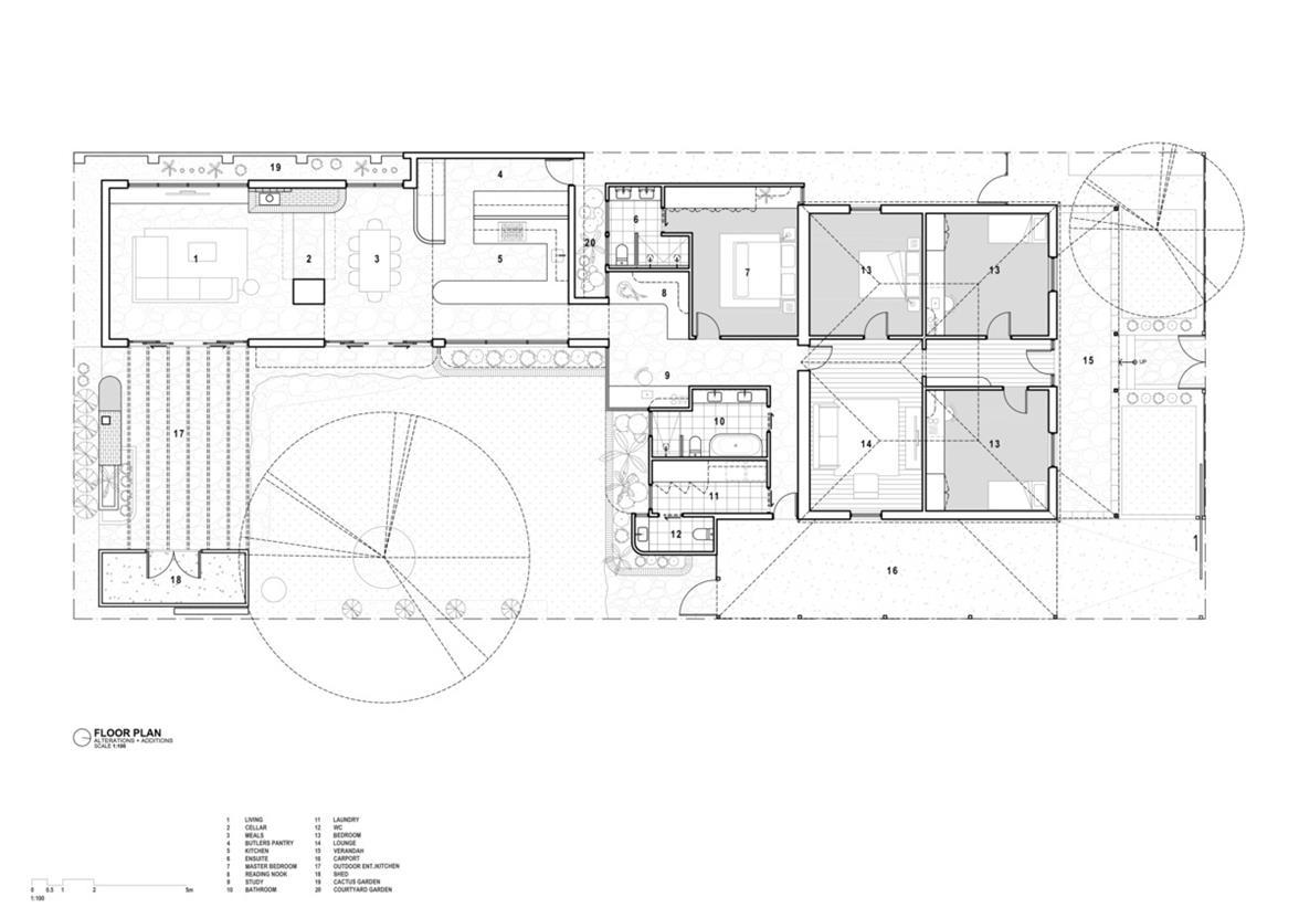 一层别墅平面方案图设计