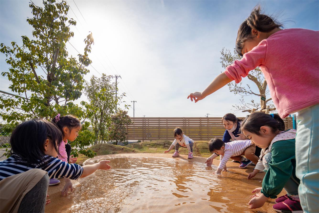 幼儿园水池设计