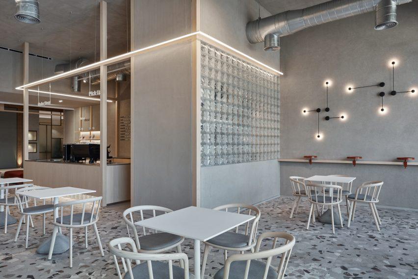 咖啡厅客座区设计概览