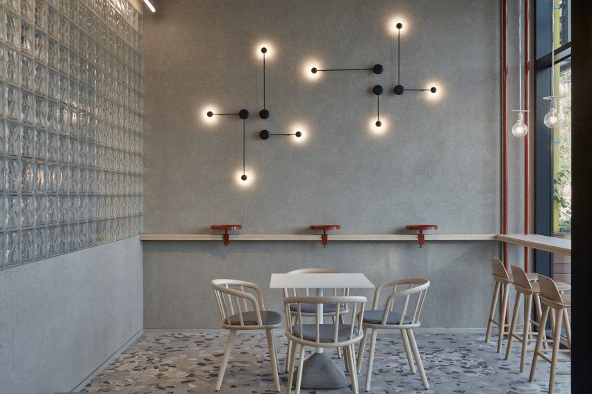 咖啡厅吧台区设计