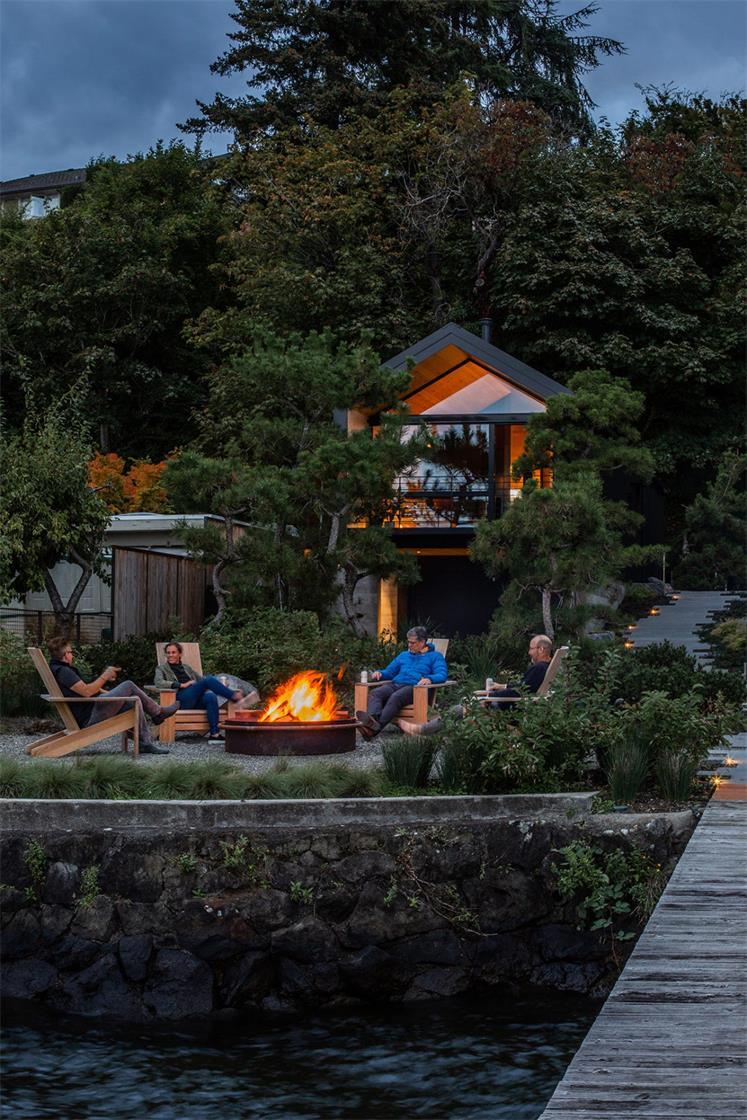 湖边住宅设计