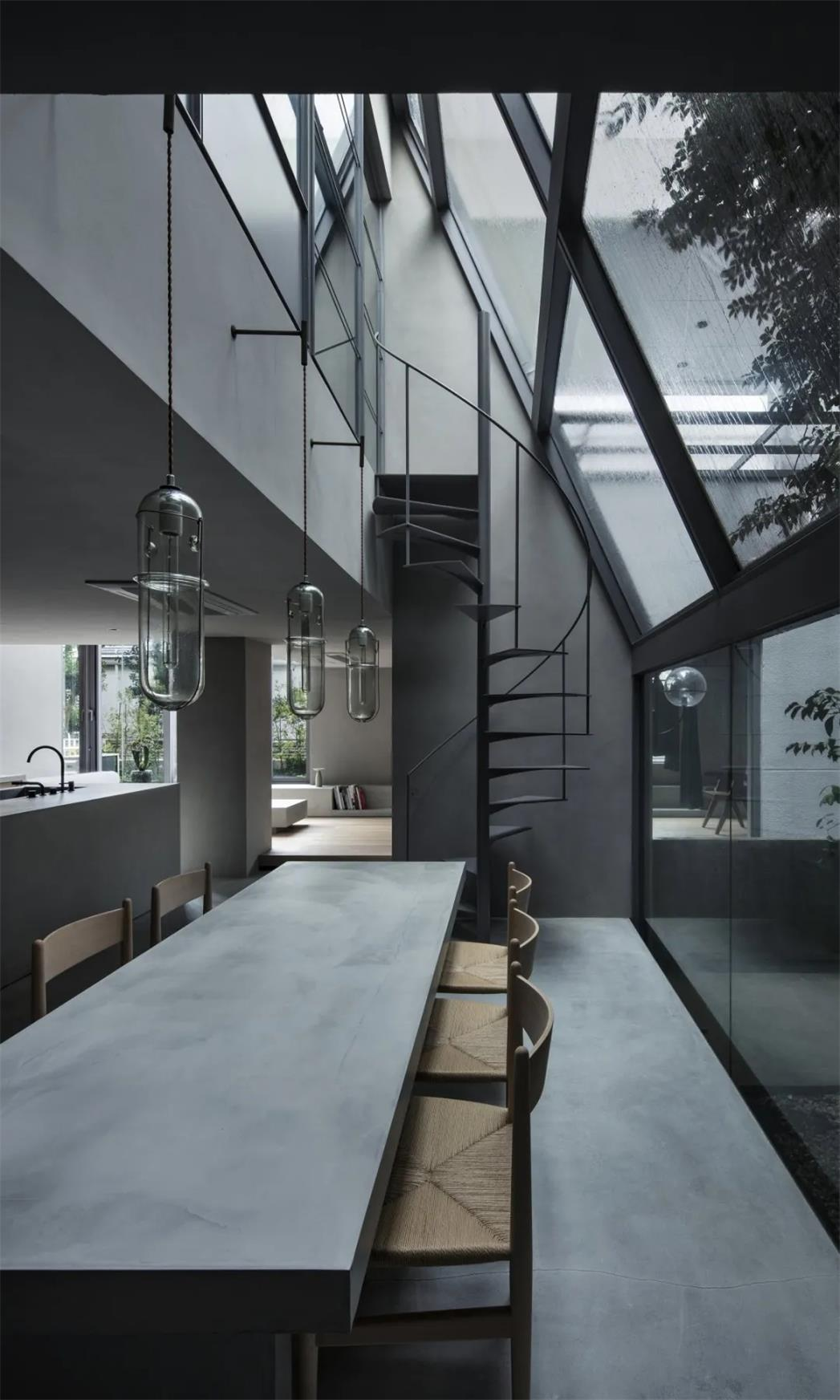 清水混凝土室内设计案例