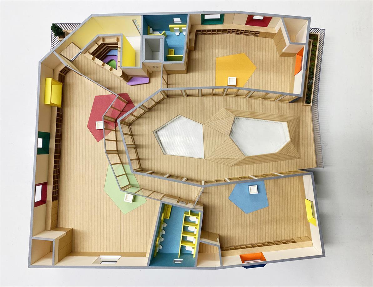幼儿园室内设计模型