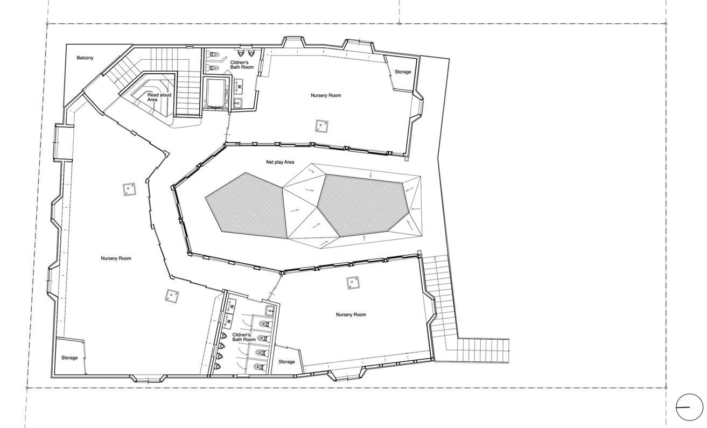 幼儿园一层平面方案设计