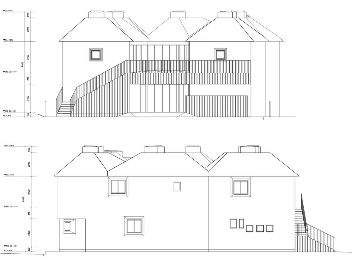幼儿园建筑立面图