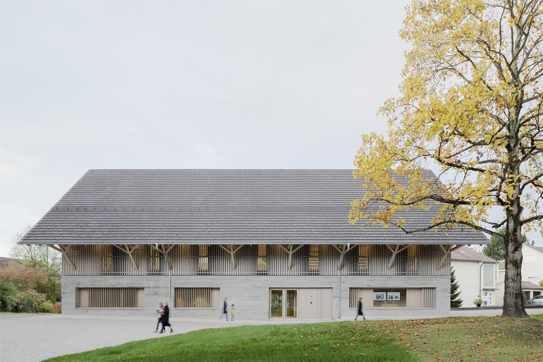 图书馆建筑外立面设计