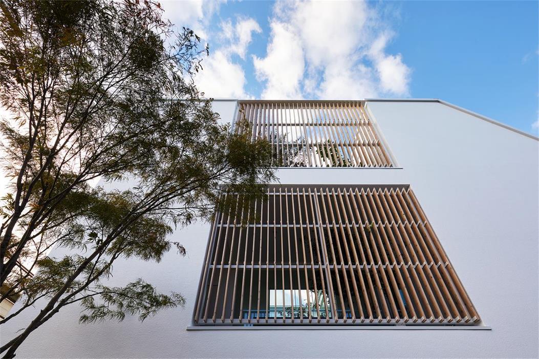 别墅外立面格栅设计