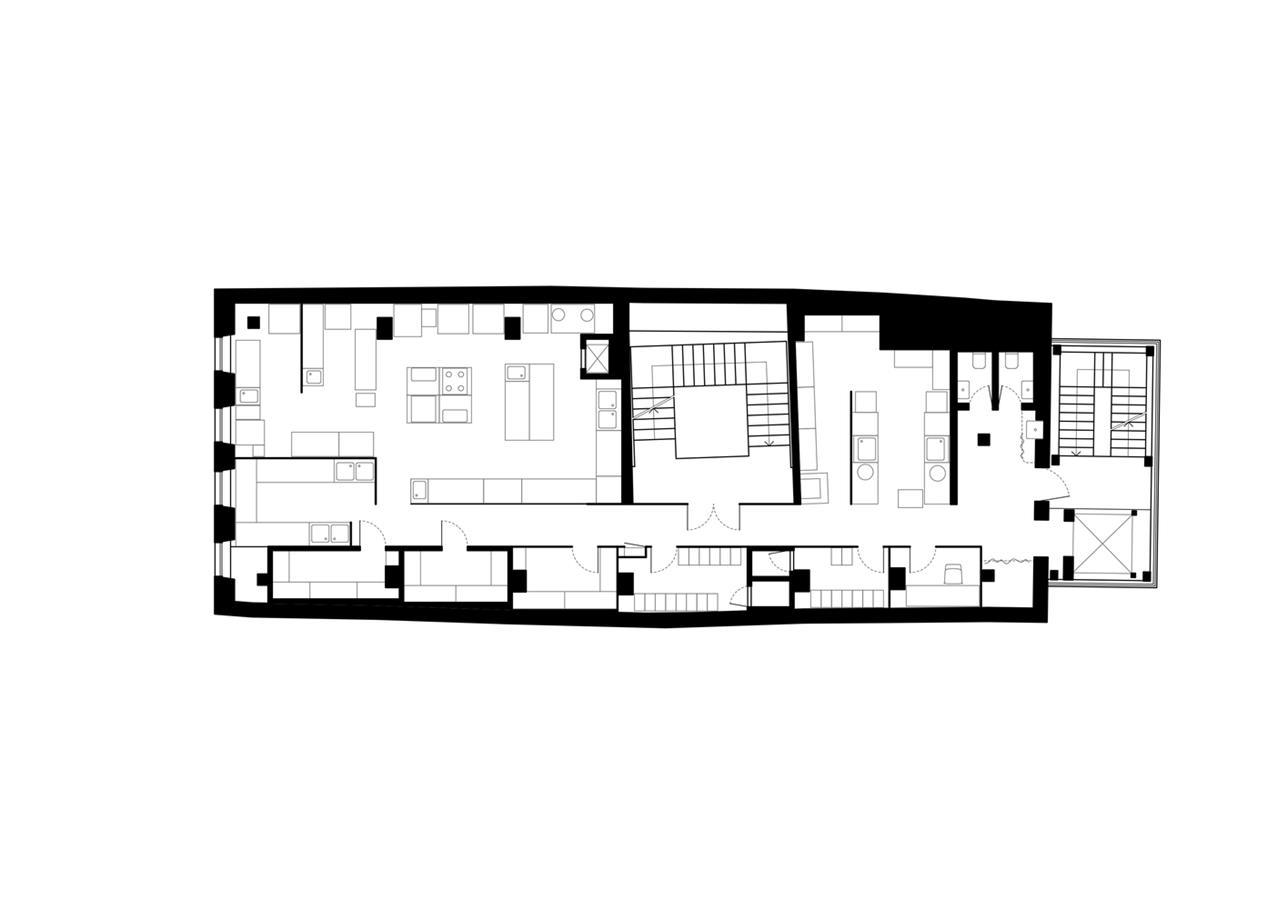 二层酒吧平面方案设计