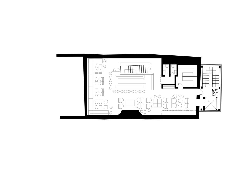 五层酒吧平面方案设计