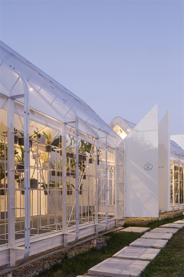 温室花店设计