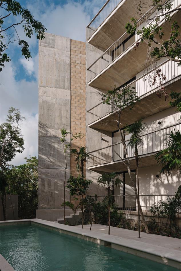 公寓楼建筑外立面设计