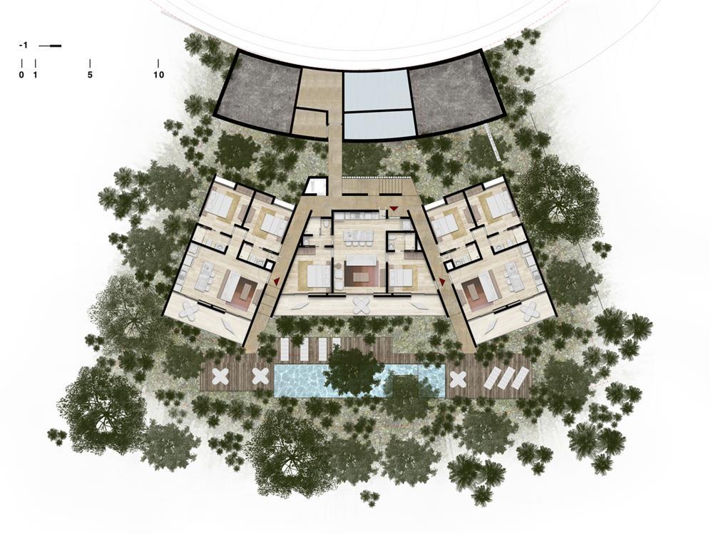 公寓楼平面方案图设计