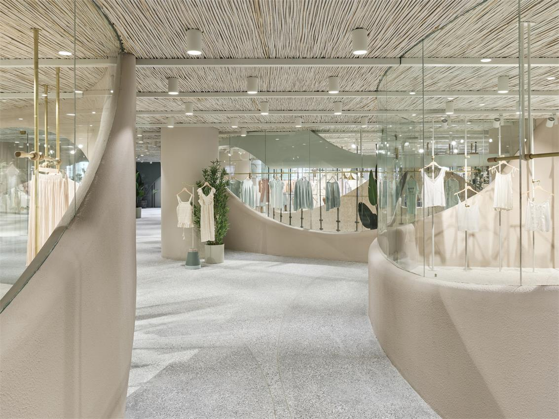 服装办公室展厅设计