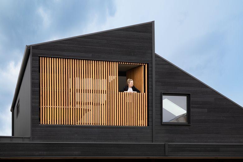 黑色木屋住宅设计