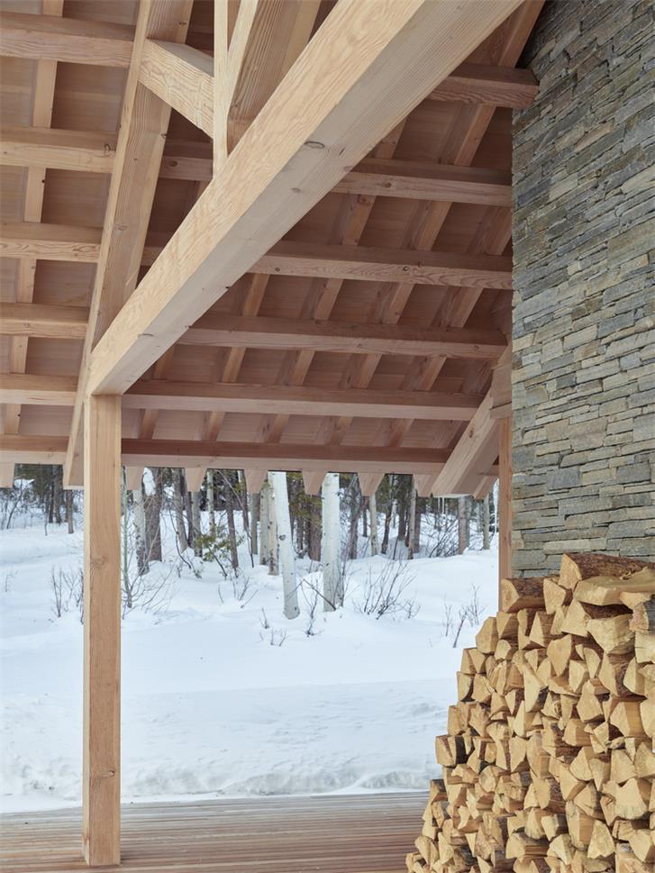谷仓风度假木屋设计