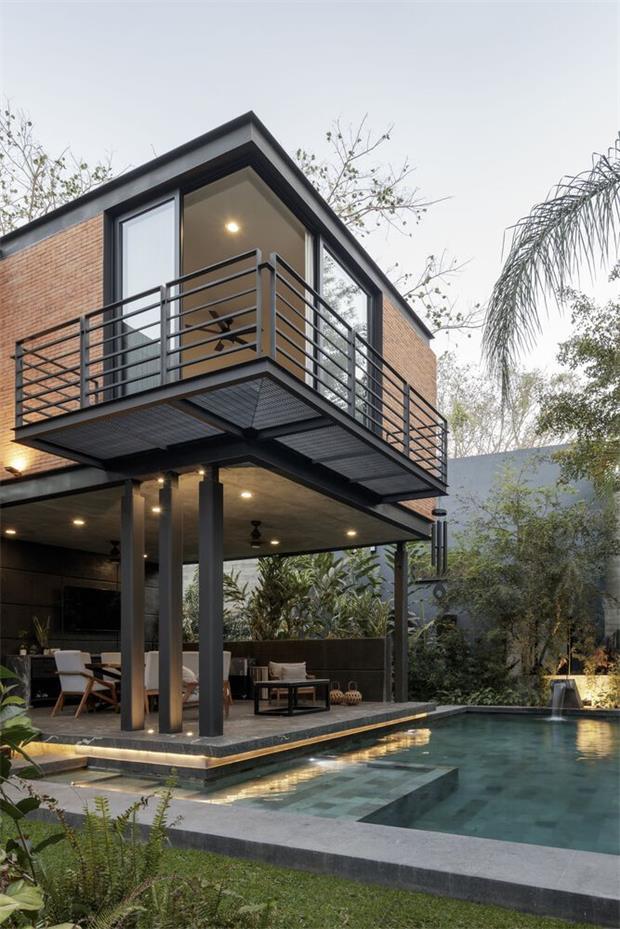 红砖别墅设计