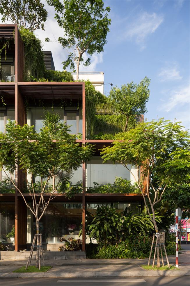 绿植办公楼设计