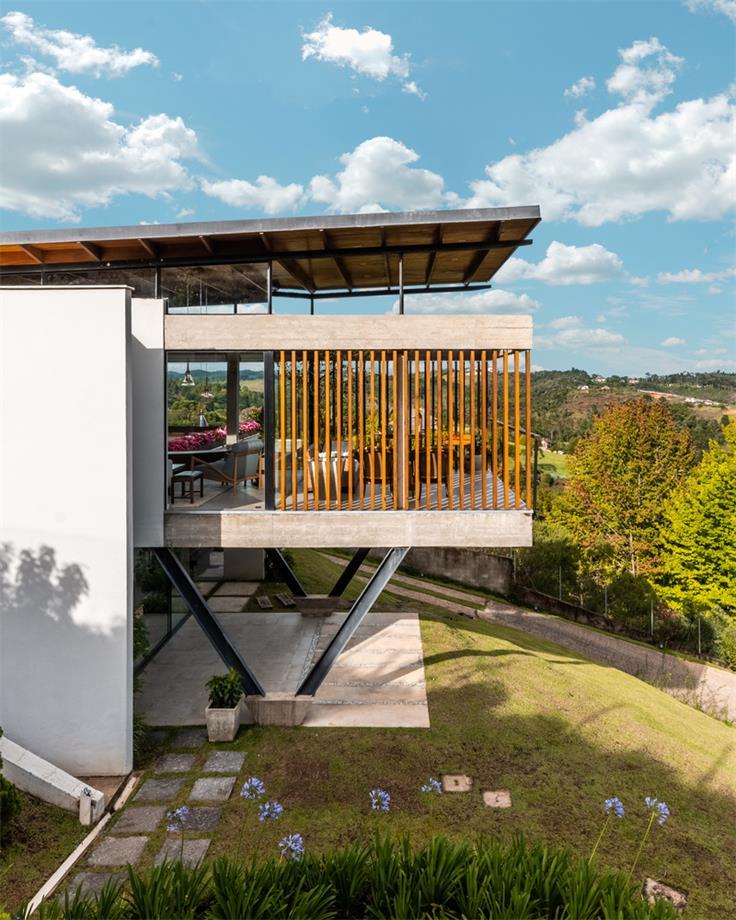 混凝土别墅设计