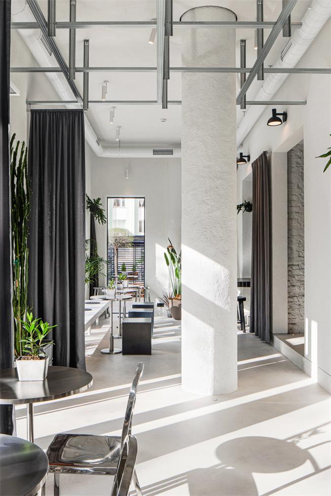 loft风咖啡馆设计