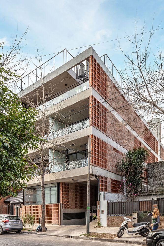 红砖公寓楼设计